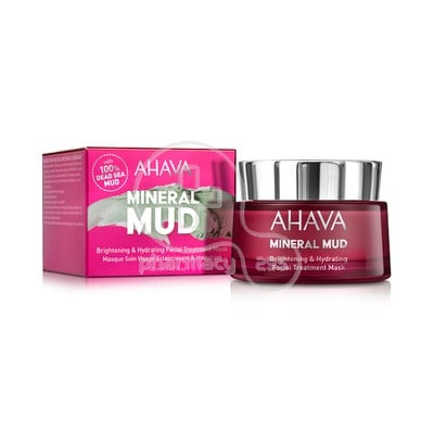 AHAVA - MINERAL MUD Brightening & Hydrating Facial Treatment Mask - 50ml