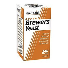 Health Aid Brewers Yeast, Μαγιά Μπύρας 240Tabs