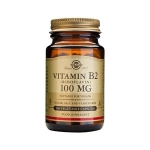 Solgar vitamin b2 100mg
