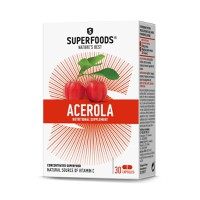 SUPERFOODS ACEROLA 300MG 30CAPS