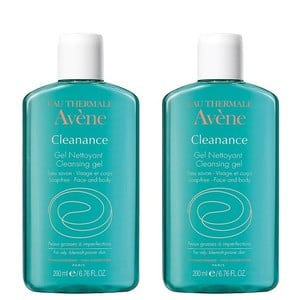2x avene cleanance gel  2x200ml