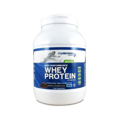 IsoPlus - MyElements Sports High Performance Whey Protein Powder με Γεύση Σοκολάτα - 900gr