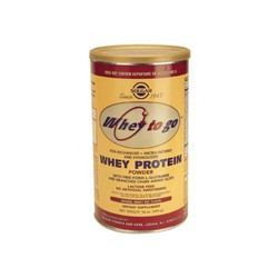 Solgar Whey To Go Protein Powder Natural Vanilla Flavor 340gr