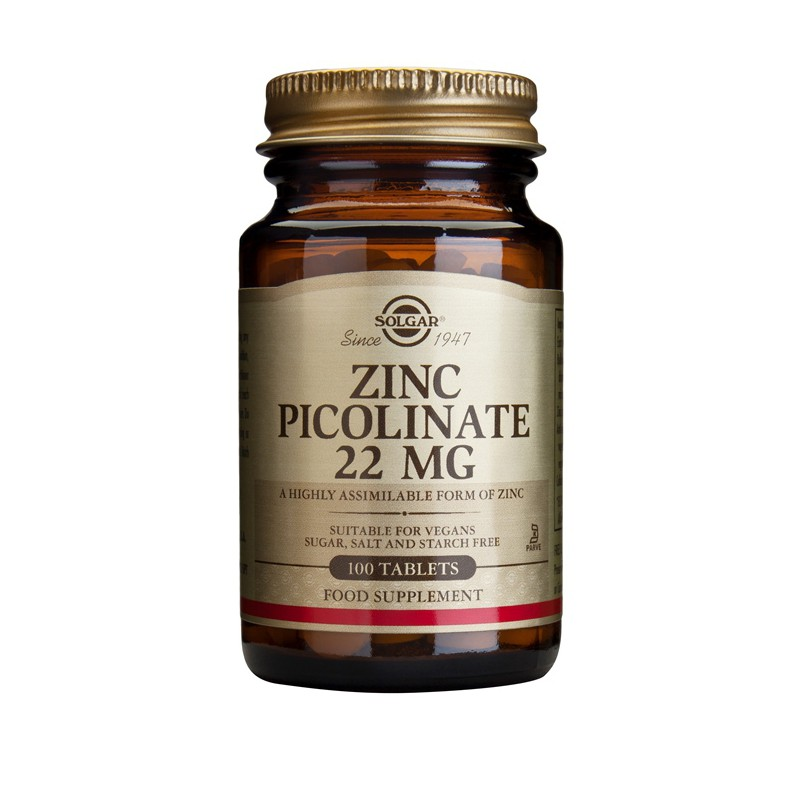 Zinc Picolinate 22mg tablets