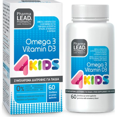 PHARMALEAD OMEGA 3 & VITAMIN D3 4KIDS GUMMIES 60 ΤΕΜ.