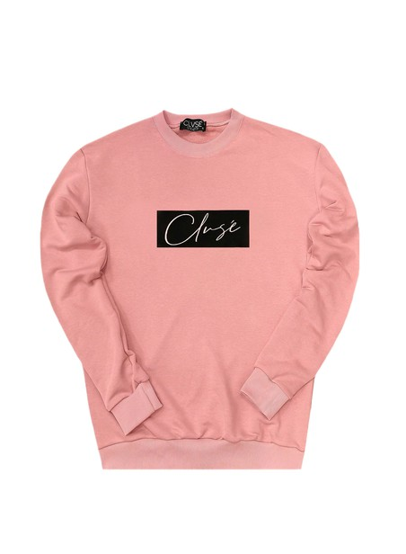 CLVSE SOCIETY SOMON CREW NECK WITH BLACK STAMP