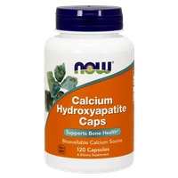 NOW CALCIUM HYDROXYAPATITE 1000 MG 120 CAPS