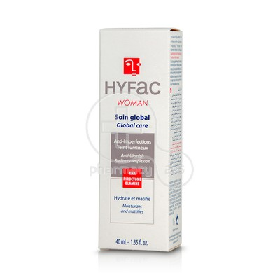 HYFAC - WOMAN Soin Global - 40ml