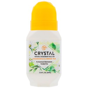 Specchiasol crystal essence mineral deodorant roll on chamomille   green tea