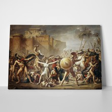 Jacques louis david   the intervention of the sabine women