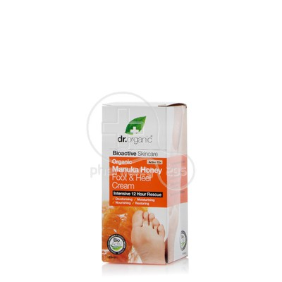 DR. ORGANIC -  MANUKA HONEY Foot & Heel Cream - 125ml