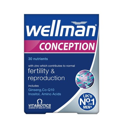 Vitabiotics - Wellman Conception - 30tabs