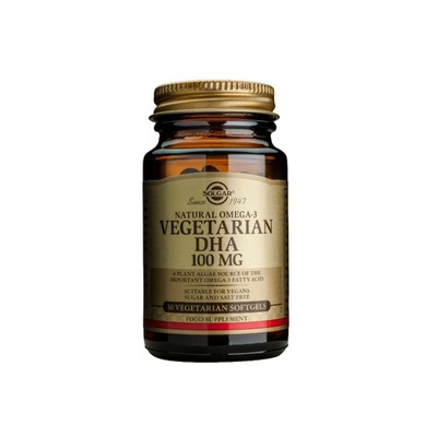 Solgar - Vegeterian DHA 100mg - 30softgels