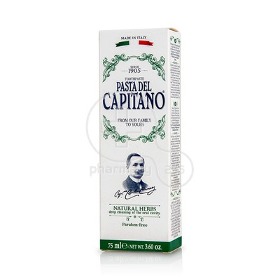 DR. CICCARELLI - PASTA DEL CAPITANO Natural Herbs Toothpaste - 75ml