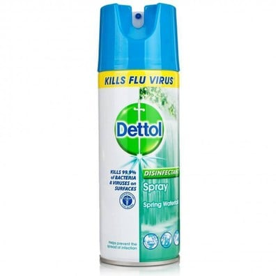 Dettol disinfectant spray spring waterfall
