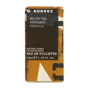 Eau de toilette for women white tea   bergamot   freesia 50ml