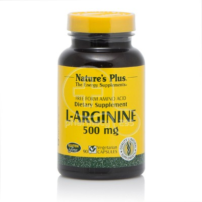 NATURE'S PLUS - L-Arginine 500mg - 90caps