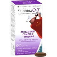 MINAMI NUTRITION PLUSHINZO-3 ANTI OXIDANT COMPLEX 30SOFTGELS