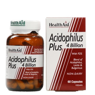 Health aid acidophilus 4 billion
