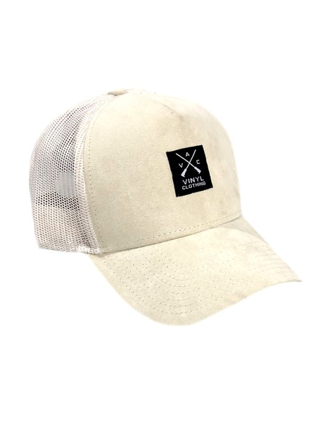 VINYL ART CLOTHING BASEBALL SUEDE CAP