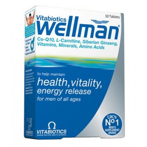 VITABIOTICS Wellman original 30tablets