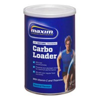 MAXIM ENERGY SYSTEM CARBO LOADER NATURAL FLAVOUR 500GR