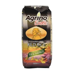 AGRINO EXOTIC ΡΥΖΙ PARBOILED WILD RICE 500 gr