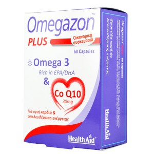 Health aid omegazon omega 3 co q10 60caps 600x600