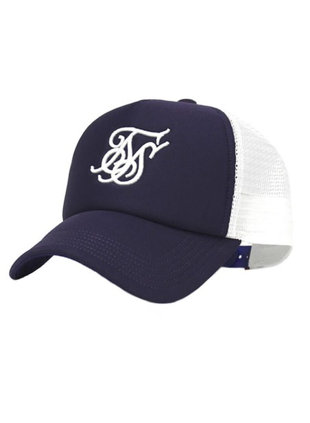 SikSilk Foam Trucker Cap – Navy