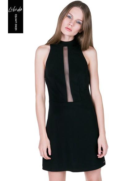 9970081af997 Libido  Φόρεμα με διαφάνεια στο στήθος