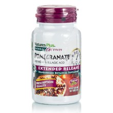 Natures Plus Pomegranate 400mg (Extended Release) - Καρδιαγγειακό (Ρόδι), 30tabs