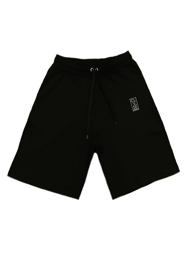 CLVSE SOCIETY BLACK PATCH SHORTS