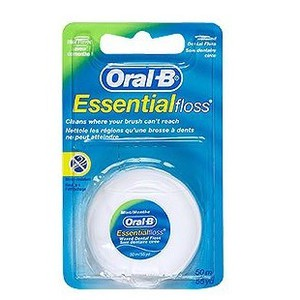 Oralb floss waxed