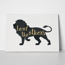 Lion lead the others 372097201 a