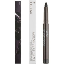 Korres Volcanic Minerals Twist Eyeshadow No. 98 Metallic Black / Μαύρο Μεταλλικό, 1.4 gr