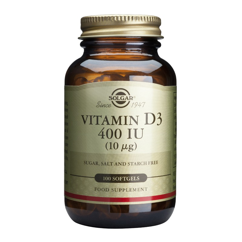 Vitamin D3 400/1000IU softgels