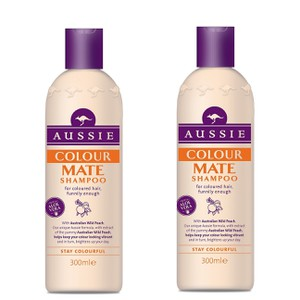 Aussie colour mate shampoo 300ml x2