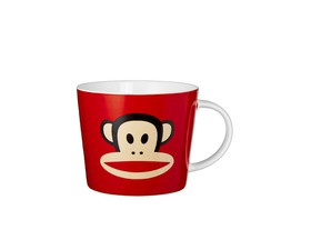 Κούπα JUMBO κόκκινη COLORS PAUL FRANK BONE CHINA