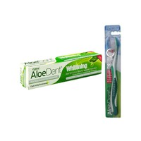 OPTIMA ALOE DENT TOOTHPASTE WHITENING 100ML (PROMO+ΟΔΟΝΤΟΒΟΥΡΤΣΑ)