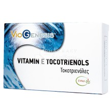 Viogenesis Vitamin E Tocotrienols 55.3mg, 60caps