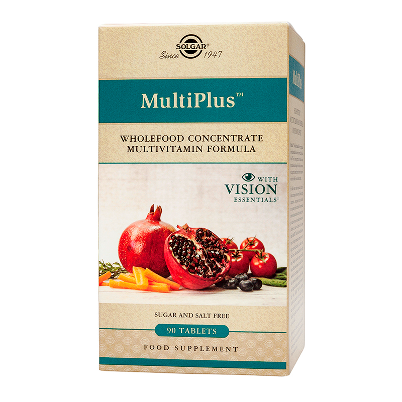 Multiplus with Vision Essentials tablets