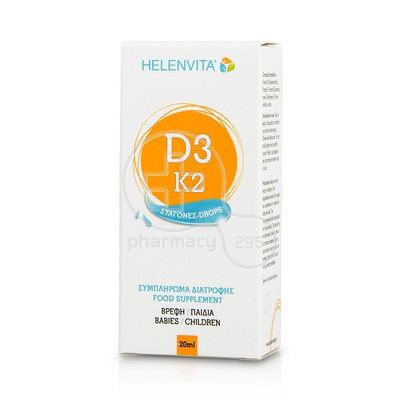 HELENVITA - Vitamin D3 - K2 Drops - 20ml