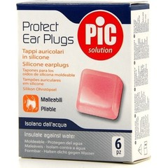 Pic Protect Ear Plugs - Ωτοασπίδες προστασίας, 6 τεμάχια