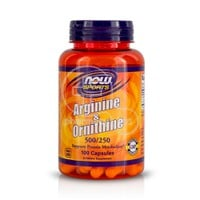 NOW - SPORTS Arginine & Ornithine 500/250 - 100caps