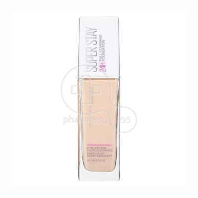 MAYBELLINE - SUPERSTAY Full Coverage Foundation No05 (Light Beige) - 30ml