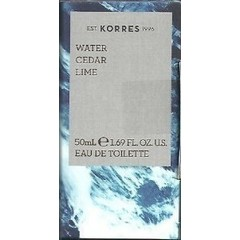 Korres Water Cedar & Lime Eau de Toilette, 50ml