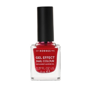 KORRES Gel effect nail colour N51 rosy red 11ml
