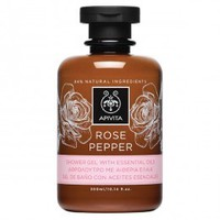 APIVITA ROSE PEPPER SHOWERGEL 300ML