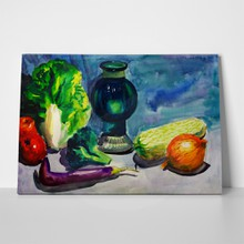 Watercolor vegetables 75571207 a