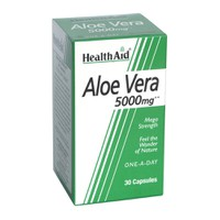 HEALTH AID FRESH ALOE VERA 5000MG 30CAPS